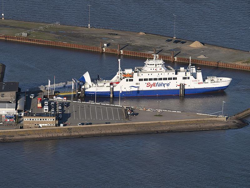 Syltferry at the port of Havneby in Denmark.